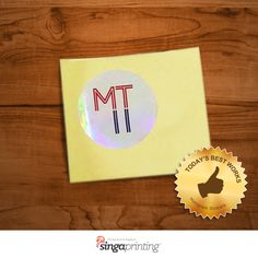 Excellent way to make your design shine is to order #HologramStickers from us! Lowest price offer for $185 ONLY!