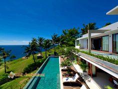 Malimbu Cliff that offers four bedroom villa in Lombok, Bali. http://www.individualbali.com/villas/malimbu-cliff