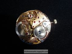 Uhrwerk Buren 1000 - Mechanische Uhrwerke - Bayern (Deutschland) - Brooch, Jewelry, Clock Movements, Bavaria Germany, Brooch Pin, Jewlery, Jewels, Jewerly, Jewelery