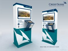 Glorifier & Other Private Banking, Credit Suisse, Brochure Holders, Stand Design, Display, App, Places, Home Decor, Floor Space