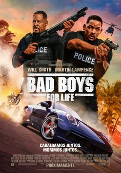 Movie Poster release for the 2020 drop of Bad Boys for Life. This is another movie in the famous Bad Boys series staring Will Smith and Martin Lawrence. 2020 Movies, Hd Movies, Movies Online, Movie Tv, Bad Boys Movie, Bad Boys 3, Movies For Boys, Martin Lawrence, Streaming Hd