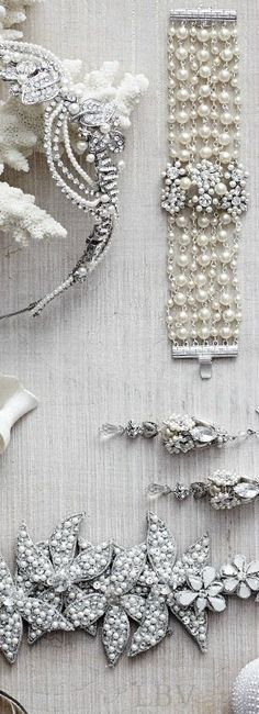 Luxury: Pearl Accessories | LBV ♥✤