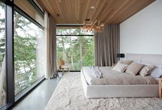 South Pender Island Residence - modern - Bedroom - Vancouver - Marrimor (Previously McCarthy Hinder)