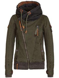 Naketano Walk The Line Female Jacket: Amazon.fr: Vêtements et accessoires