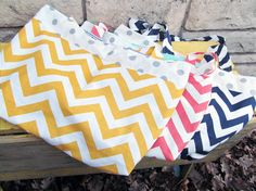 Chevron Tote Bag with Button Closure by tgdesignsbytraci on Etsy