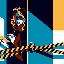 best frank miller illustrations detective - Google Search Frank Miller, Detective, Minimalism, Novels, Glamour, Graphic Design, Portrait, 1940s, Crime