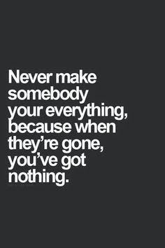 Never !!!