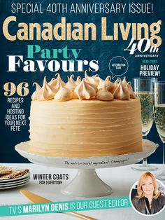 Canadian Living Nov 2015 Cover | ©Jodi Pudge 2015 | www.jodipudge.com