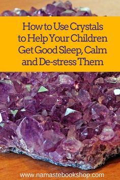 Crystals are used to calm and de-stress children. You could have these placed in your child's pocket or have it hang as jewelry. Calming and loving rose quartz. De-stressing and calming blue lace agate. Nervousness remover aquamarine. And for protection, some clear quartz or hematite.