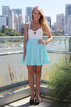 MARIAH 2.0 DRESS , DRESSES, TOPS, BOTTOMS, JACKETS & JUMPERS, ACCESSORIES, SALE, PRE ORDER, NEW ARRIVALS, PLAYSUIT, COLOUR,,Print,Teal,CUT O...