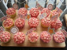 Sister's 21st Cupcakes