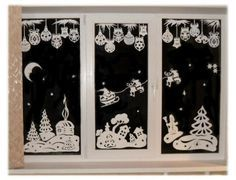 Window Paper Decoration Paper Cutting For Christmas1 In Window Decoration