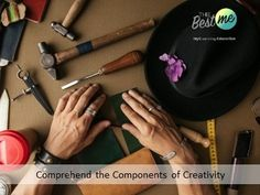 Comprehend the Components of Creativity Creativity, Education, Learning, Studying, Teaching, Onderwijs