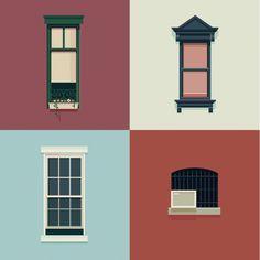 The Windows of New York and São Paulo