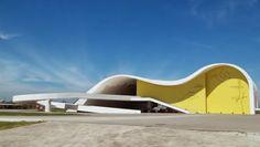 Resultado de imagem para teatro popular oscar niemeyer arquitetura