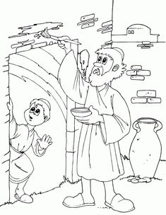 Passover marking door coloring page - coloring.com