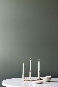 Kaari candle holder by Himmee.