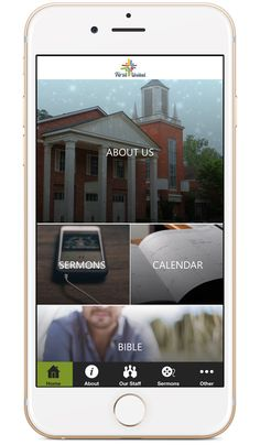 Church App - Beautiful Custom Mobile Apps for Churches Church App, Mobile App Design, Small Groups, Bible, Apps, The Unit, Community, Engagement, Digital