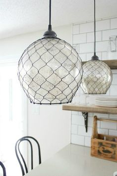 Spring Trends for your home design ideas: pendant lighting