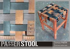 Design of upcycled furnitures.