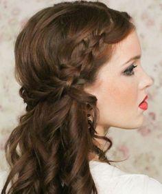 Elegant Hairstyles - Peinados elegantes Corona de Trenzas