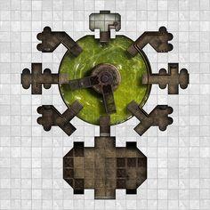 Arkay Salt caverns - Area 4 - Acid Pit by dasomerville.deviantart.com on @DeviantArt http://dasomerville.deviantart.com/gallery/