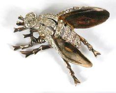 BAKELITE DIAMOND FLY insect jewelleri, fli jewelri, minibeast magic, insect jewelri, jewelleri insect