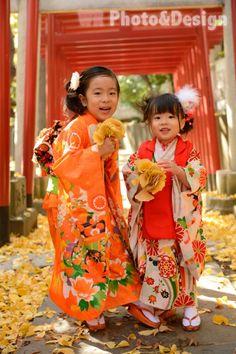) is a flatland castle in Kyoto, Japan. Japanese Kids, Japanese Prints, Japanese Kimono, Geisha, Kabuki Costume, Asian Kids, Rite Of Passage, Japanese Outfits, Japan Art