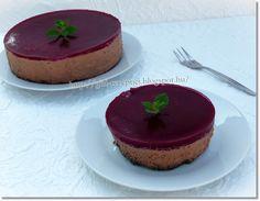 Mákos csokoládétorta málnazselével. Mousse, Cupcake, Cheesecake, Food, Cupcakes, Cheesecakes, Essen, Cupcake Cakes, Meals