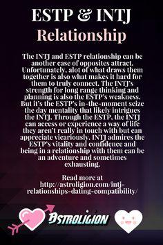 ESTP and INTJ relationship