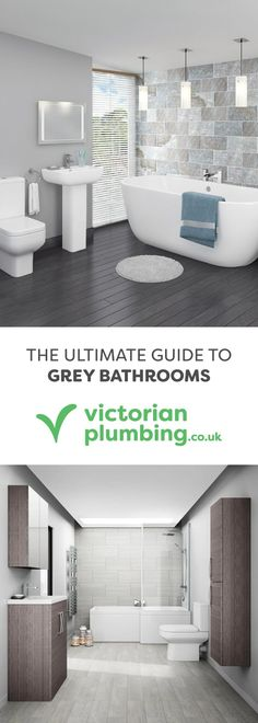 Grey Is Quickly Becoming The Colour Of Choice When It Comes To Bathroom  Styling. We