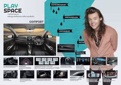 Harry // One Direction for Toyota VIOS - Thailand