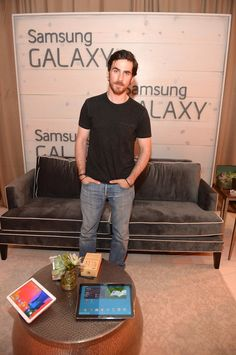 Colin O'Donoghue at the Samsung Galaxy Artist Lounge at the 2014 CMA Music Festival on June 5, 2014 in Nashville, Tennessee.