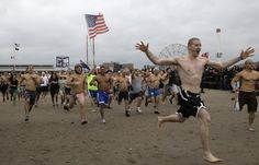 Coney Island Polar Bear Club's New Year's Day Swim Raises Funds For Superstorm Sandy Relief