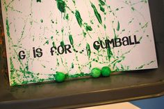 Gumball Painting