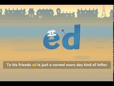 """Nessy Reading Strategy: 'ed' past tense I really like these """"Nessy Reading"""" videos!"""