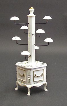Hat Display unit (White)...I wish I had room for something like this..not to mention the money.