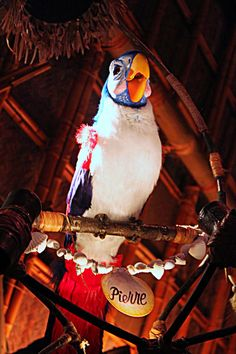 Pierre in the Tiki Room