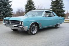 1967 Buick Skylark | very similar to the one i had in high school