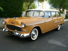 Station Wagon of the Day - 1955 Chevy Bel Air - Station Wagon Forums