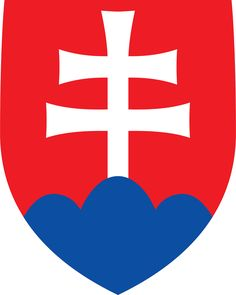 Coat of arms of Slovakia - Štátny znak Slovenska – Wikipédia Bratislava, Slovakia Flag, Cross Symbol, Warsaw Pact, What Is Today, National Animal, Central And Eastern Europe, Pattern Photography, Austro Hungarian