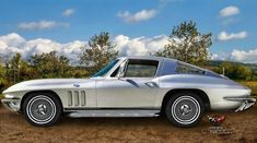 Chevrolet Corvette C2 Sting Ray 1966 by *pingallery on deviantART ❦