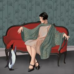 Daria Petrilli - Loneliness in a room  ......you think ???  ....  Oky