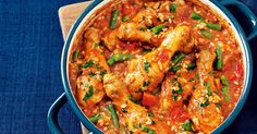We love the convenience of slow-cooker meals. Add in all the ingredients and walk away while the chicken bubbles away in the pot.