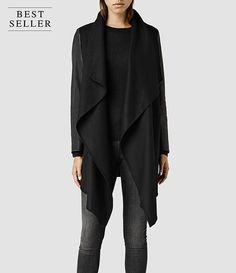 Womens Roux Coat (Black) - product_image_alt_text_1