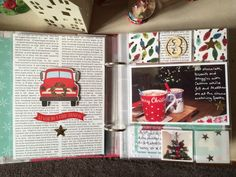 Part 2 of Document December. Sharing the first few days of my December Daily album using Simple Stories 'Claus & Co', Shimelle 'Christmas Magic' and more. Christmas Mini Albums, Christmas Journal, Christmas Scrapbook, Christmas Minis, Christmas 2017, Christmas Planning, Retro Christmas, Christmas Countdown, Christmas Christmas