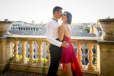 Engagement Session Rome Italy | Andrea Matone Photography | Roman Colosseum | Reverie Gallery Wedding Blog