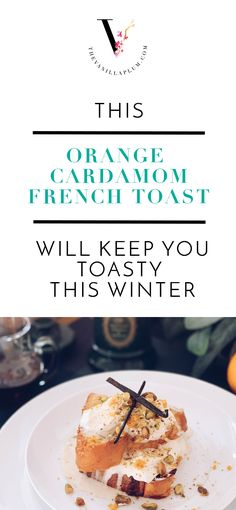 Spiced French Toast for the holidays! | www.thevanillaplum.com | #holiday #christmas #breakfast #brunch #recipes #french #toast