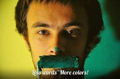 Меньше слов - больше краски