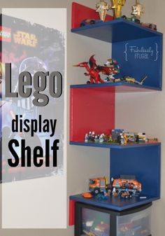 How to Make Your Very Own Lego Display Shelf